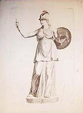 Minerva by Reinier van Persyn, 1650