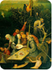 "Detail from Hieronymous Bosch's ""Ship of Fools"""