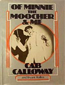 Of Minnie The Moocher & Me signed by Cab Calloway