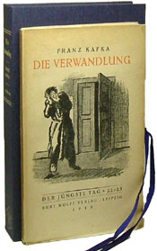 Die Verwandlung or The Metamorphosis by Franz Kafka