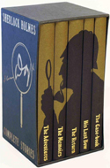 Sherlock Holmes Complete Stories (5 vols) by Arthur Conan Doyle