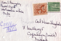 Envelope signed by Ernest Hemingway