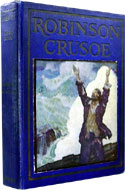 Robinson Crusoe by Daniel Defoe, Illustrated by N.C. Wyeth
