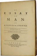 Essay on Man by Alexander Pope