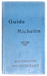 Guide michelin, Allemagne Occidentale, 1915