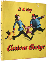 Curious George by H A Rey
