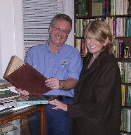 Martha Stewart with Kent Petterson
