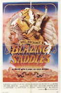 Blazing Saddles and other 1970s movie posters