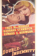 Double Indemnity and other 1940s movie posters