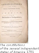 The constitutions of the several independent states of America, 1781