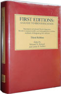 First Editions: A Guide to Identification by Edward N. Zempel