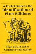 Pocket Guide to the Identification of First Editions by Bill McBride