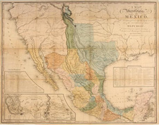 A Map Of The United States Of Mexico 1846