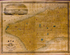 Map of the City of New York - c. 1850