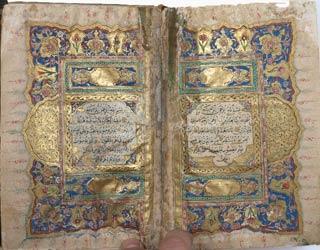 An Illuminated Quran Mcript