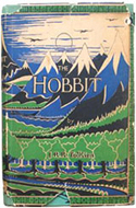 A signed, second edition of Tolkien's The Hobbit
