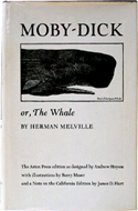 Moby-Dick or, The Whale by Herman Melville - published by The Arion Press. This edition printed in 1981.