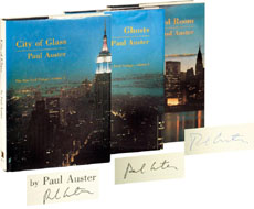 The New York Trilogy from Paul Auster