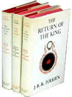 JRR Tolkien's Lord of the Rings trilogy