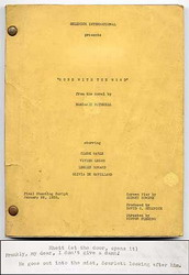 Gone with the Wind Film Script