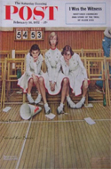 Saturday Evening Post - Feb 16, 1952 � Sulking Cheerleaders