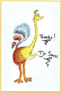 Fantastic Ostrich by Dr. Seuss