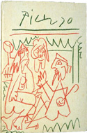 Les Déjeuners by Douglas Cooper illustrated by Picasso