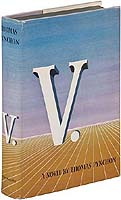 First edition of Thomas Pynchon's 'V'