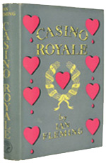 First edition, first impression of Ian Fleming's Casino Royale