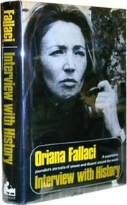 Interview with History by Oriana Fallaci - a bundle of her personal files was September's top sale at $28,994