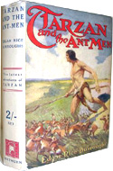 Tarzan and the Ant Men by Edgar Rice Burroughs