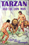 Tarzan and the Lion Man by Edgar Rice Burroughs