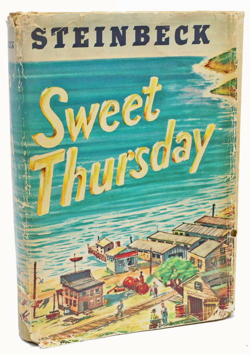 a comparison of sweet thursday by john steinbeck and the great gatsby by f scott fitzgerald Carmenere's (lynda's) place of mice and men, john steinbeck - read 3 the great gatsby, f scott fitzgerald sweet thursday, lynda.