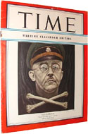 Time Magazine, February 12, 1945 - Heinrich Himmler - the Gestapo chief committed suicide three months later