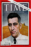 Time Magazine September 15, 1961 - The reclusive author J.D. Salinger is featured in a six- page article.