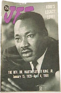Jet Magazine April 18, 1968 - The legacy of Martin Luther King, published two weeks after his death.