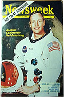 Newsweek July 21 1969 - Preview of the Apollo 11 mission with Neil Armstrong on the cover.