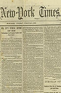 New York Times October 6, 1863 - Includes General Lee's official report of his campaign in Pennsylvania and Maryland during the US Civil War.