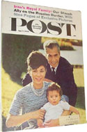 Saturday Evening Post April 14, 1962 - A lengthy report on Iran's royal family.