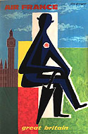 Vintage travel posters of England and Great Britain