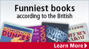 Funniest books according to the British