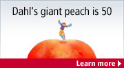 Dahl's Giant Peach is 50
