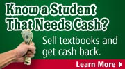 Sell used textbooks for cash