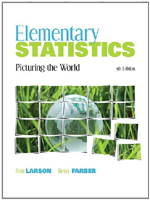 Elementary Statistics: Picturing the World, 9780321693624