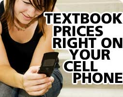 Textbook Prices Right on Your Cell Phone