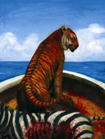 Example from Illustrated Edition of Life of Pi