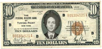 Malcolm Gladwell on the US $10 note