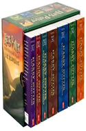 The Harry Potter Books by J.K. Rowling