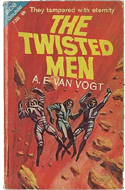 The Twisted Men by Calvin Knox (bound with One of Our Asteroids is Missing)