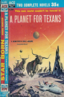 A Planet for Texans by H. Beam Piper (Bound with Star Born by Andre Norton)